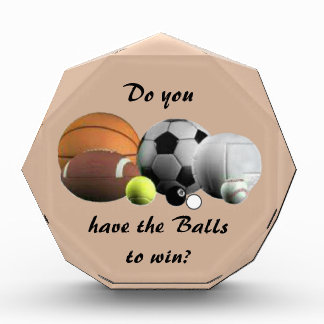 Do you have the Balls to win? Award