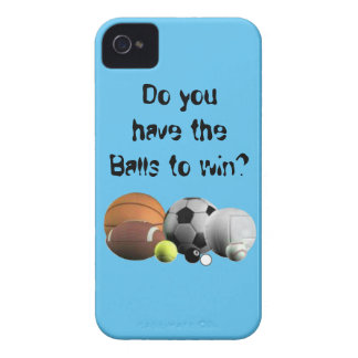 Do you have the Balls to win? Case-Mate iPhone 4 Case
