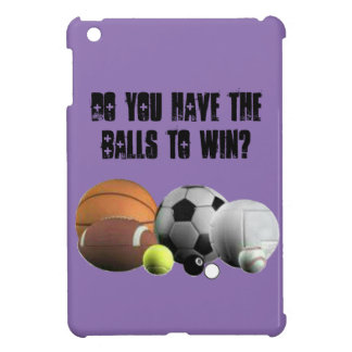Do you have the Balls to win? iPad Mini Covers