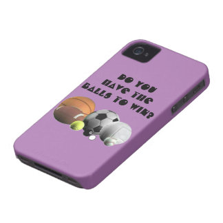 Do you have the Balls to win? iPhone 4 Case-Mate Case
