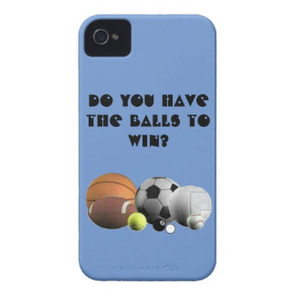 Do you have the Balls to win? iPhone 4 Case-Mate Cases