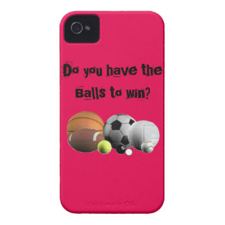 Do you have the Balls to win? iPhone 4 Cover