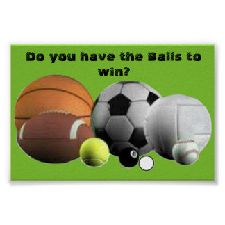Do you have the Balls to win? Poster