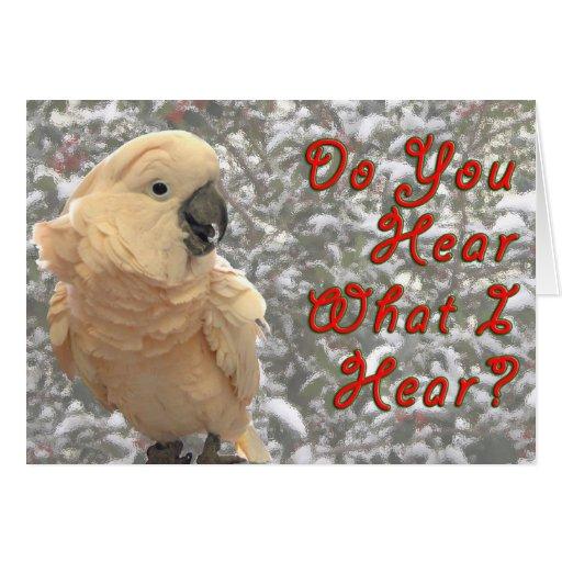 Do You Hear Greeting Card