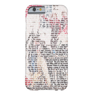 Do you hear the people sing Lyrics iPhone 6 Case