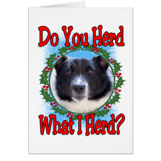 Do You Herd Card