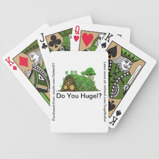 Do You Hugel? Bicycle Playing Cards