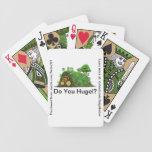 Do You Hugel? Bicycle Poker Deck