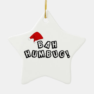 Do you know any BAH HUMBUGS? Christmas Tree Ornament