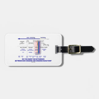 Do You Know Difference Non-Ionizing Ionizing Bag Tag