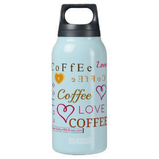 Do You Know How Much I Love Coffee? Insulated Water Bottle
