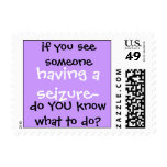 do you know? postage stamp