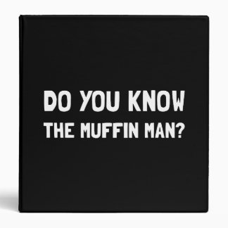 Do You Know The Muffin Man Binder