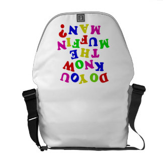 Do you know the Muffin Man? Courier Bag
