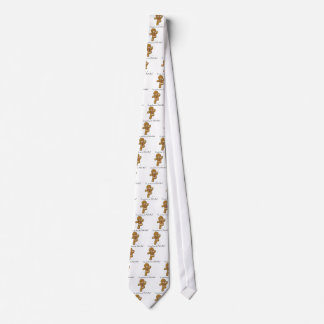 Do you know the Muffin Man?  Gingerbread Cookie Neck Tie