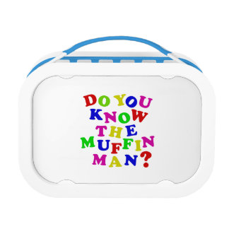 Do you know the Muffin Man? Yubo Lunch Box