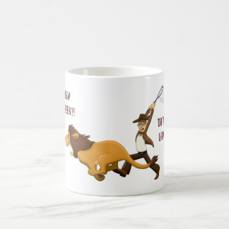 """Do You Know What Lions I Hunted?"" Coffee Mug"