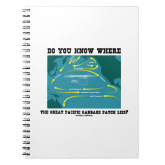 Do You Know Where Great Pacific Garbage Patch Lies Notebook