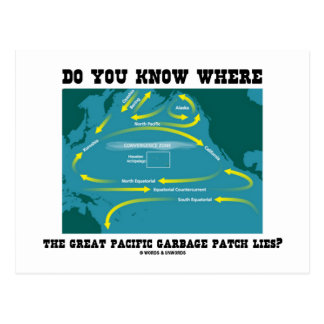 Do You Know Where Great Pacific Garbage Patch Lies Postcard