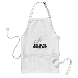 Do You Know Your Cholesterol Levels? (Chemistry) Adult Apron