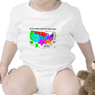 Do You Know Your Zip Code Zone? (US Map) Baby Creeper
