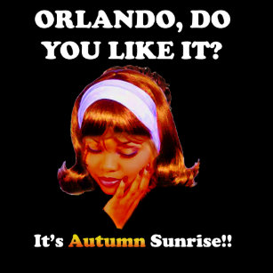 Do You Like It Orlando? It's Autumn Sunrise Coffee Mug