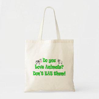 Do You Love Animals? Tote Bag