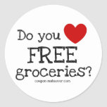 Do you love FREE Groceries Stickers