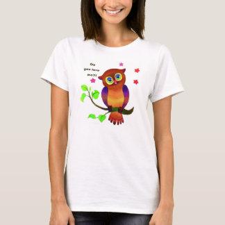 Do You Love Me Owl Lovely Tees t-shirt Fun cartoon