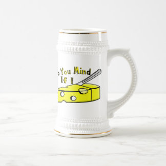 Do You Mind If I Cut The Cheese 18 Oz Beer Stein