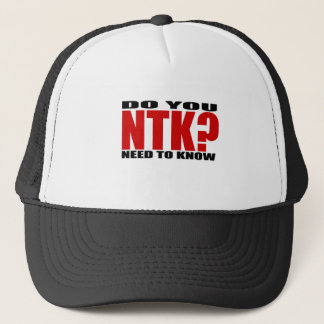 Do You Need to Know? Trucker Hat