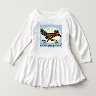 Do you not know that in a race all the runners run infant dress