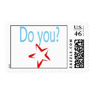 Do You? stamp