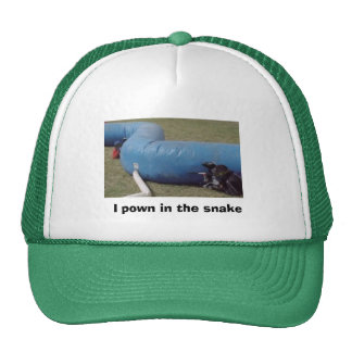 Do you pown in the snake? if you do this is the ha trucker hat
