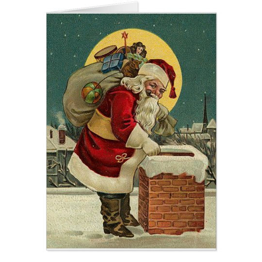 Do You Really Think My Fat Butt Will Fit?  Santa Card