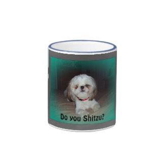 Do you Shitzu? Ringer Mug