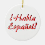 Do You Speak? Christmas Tree Ornaments