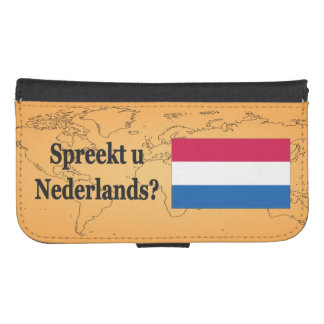 Do you speak Dutch? in Dutch. bf Phone Wallet Cases