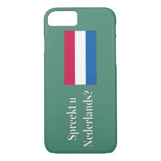 Do you speak Dutch? in Dutch. wf iPhone 7 Case