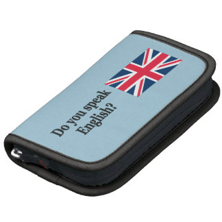 Do you speak English? in English. Flag bf Planners