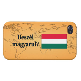 Do you speak Hungarian? in Hungarian. Flag bf Cover For iPhone 4