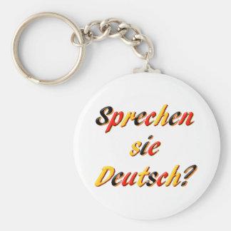 Do You Speak? Keychain