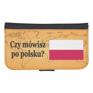 Do you speak Polish? in Polish. Flag bf Phone Wallet Case