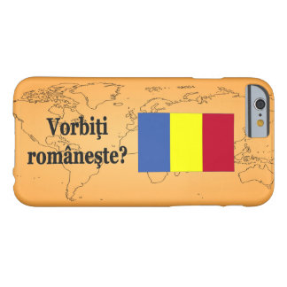 Do you speak Romanian? in Romanian. Flag bf iPhone 6 Case