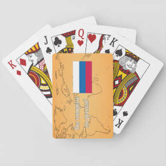 Do you speak Russian? in Russian. Flag wf Deck Of Cards
