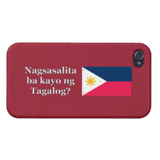 Do you speak Tagalog? in Tagalog. Flag wf Covers For iPhone 4