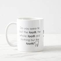 Do you swear? coffee mug