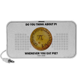 Do You Think About Pi Whenever You Eat Pie? Speaker