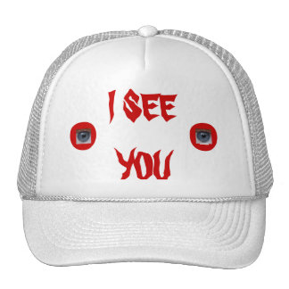 Do YOU think I have eyes in the back of my head? Trucker Hat
