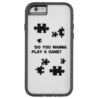 'Do You Wanna Play A Game?' Phone Case